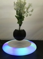 colorful led light magnetic floating levitate bottom air bonsai potted christmas