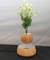 new wooden magnetic floating levitating air pot bonsai for christmas gift  2