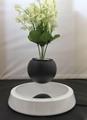 mirror base hexagon  magnetic floating levitating flying pot air bonsai  6