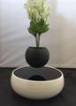 360 rotating ceramic magnetic floating levitate air bonsai pot  3