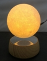 magnetic levitation floating moon lamp light