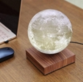 square base maglev floating levitate moon lighting 6inch bulb