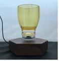NEW hexagon magnetic floating levitate bottom mug cup