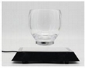 360 rotating square base magnetic floating levitating coffee cup for gift