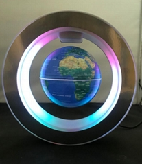 NEW magnetic floating levitate pop 4 inch globe with lighting toys gift