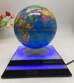 LED lighting magnetic floating levitate rotating globe toys 7inch