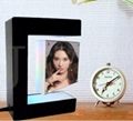 LED magnetic floating rotating photo