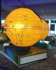 book base magnetic floating levitate bottom 8 inch globe lighting