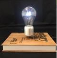 book base magnetic floating levitate bottom LED bulb lamp