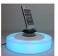 LED light magnetic floating levitate bottom cellphone shoes display racks
