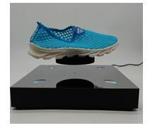 LED light magnetic floating levitate bottom shoes display rack heavy 0-500g
