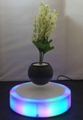 new spining magnetic floating levitate flying plant tree pot  3