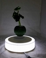 new spining magnetic floating levitate flying plant tree pot  5