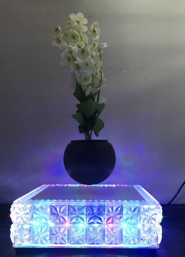 new led light maglev floating levitron air bonsai potted heavy 0-500g 1