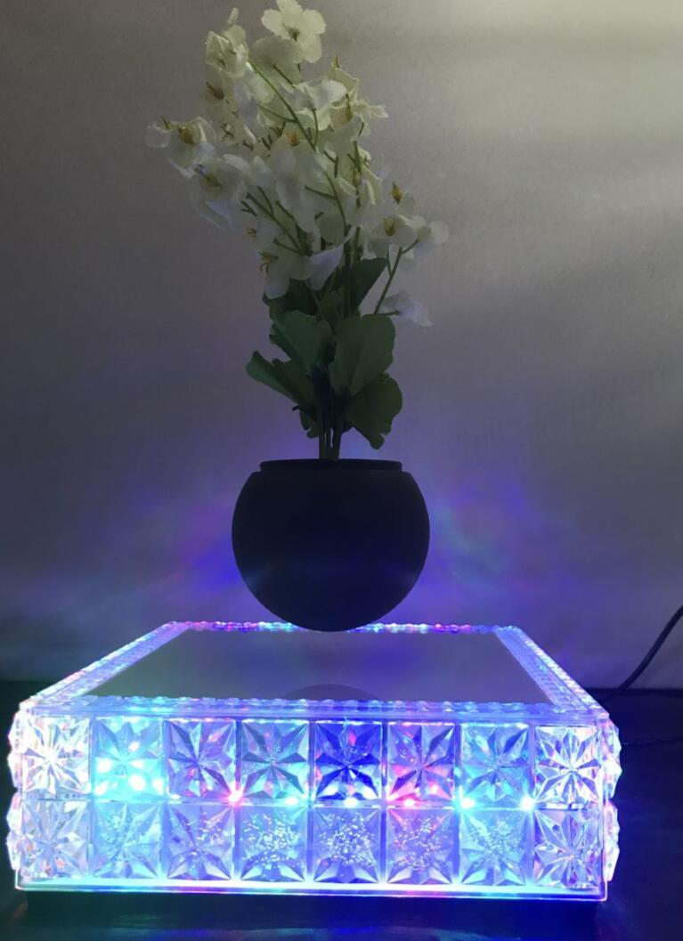 new led light maglev floating levitron air bonsai potted heavy 0-500g 3