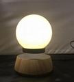 new rotating maglev floating levitate bottom led lamp lighitng bulb  2