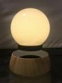 new rotating maglev floating levitate bottom led lamp lighitng bulb  3