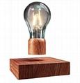 magnetic floating levitating led bulb