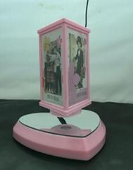 Heart shape magnetic floating photo frame, Valentine gift Levitating photo