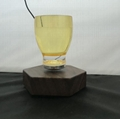 Levitating Cocktail Glass Uses Magnets floating cup