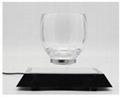 360 rotating square base Creative Levitating Cup