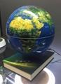 Amazing levitating globe and antigravity floating globe with book base  2