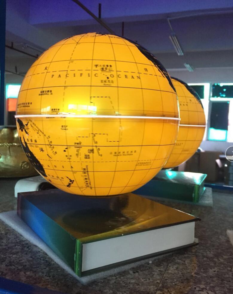 Amazing levitating globe and antigravity floating globe with book base  3