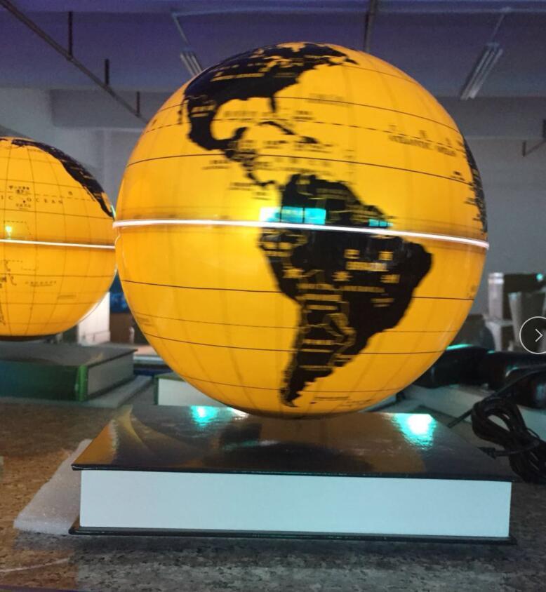 Amazing levitating globe and antigravity floating globe with book base  1