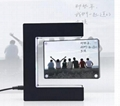 acrylic led magnetic levitation display photo frames gift decor