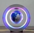 new green ceramic globe magnetic floating levitate globe 4inch toys  2