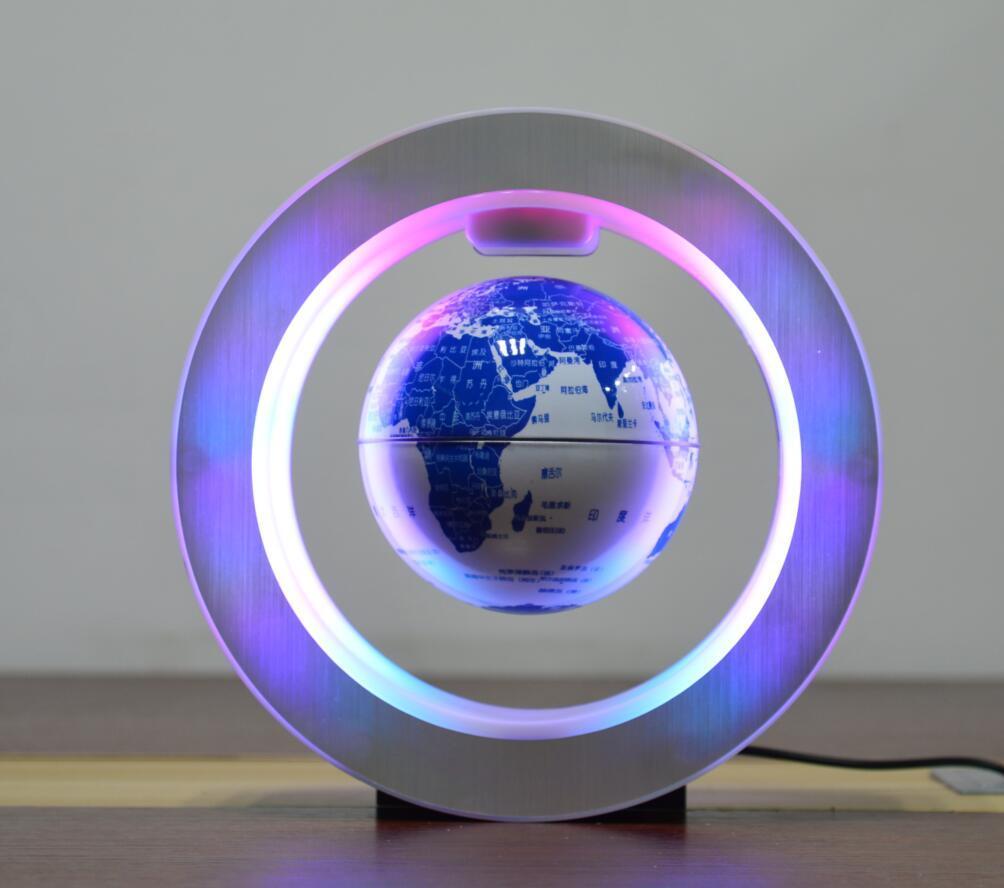 new green ceramic globe magnetic floating levitate globe 4inch toys  3