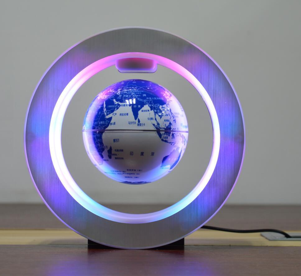 new green ceramic globe magnetic floating levitate globe 4inch toys  4
