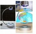 Magnetic floating levitate pop world globe lighting 8inch
