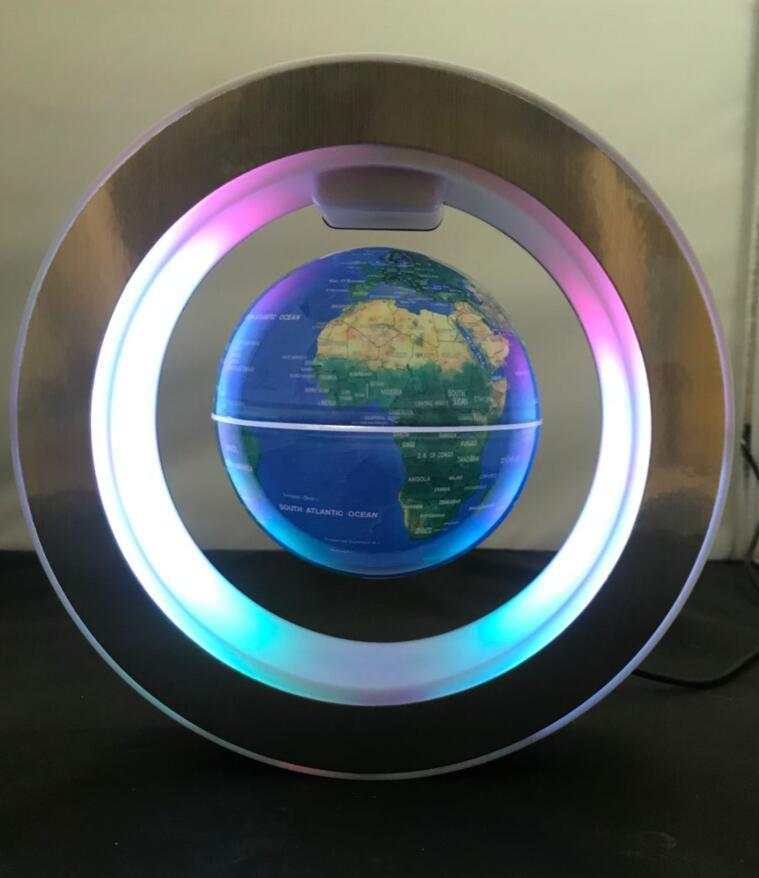 led magnetic levitation floating rotating globe 4inch gift  1