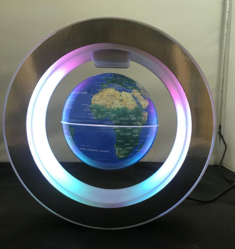 led magnetic levitation floating rotating globe 4inch gift  2