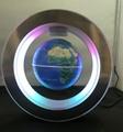 led magnetic levitation floating rotating globe 4inch gift