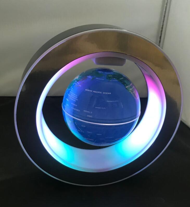 led magnetic levitation floating rotating globe 4inch gift  4