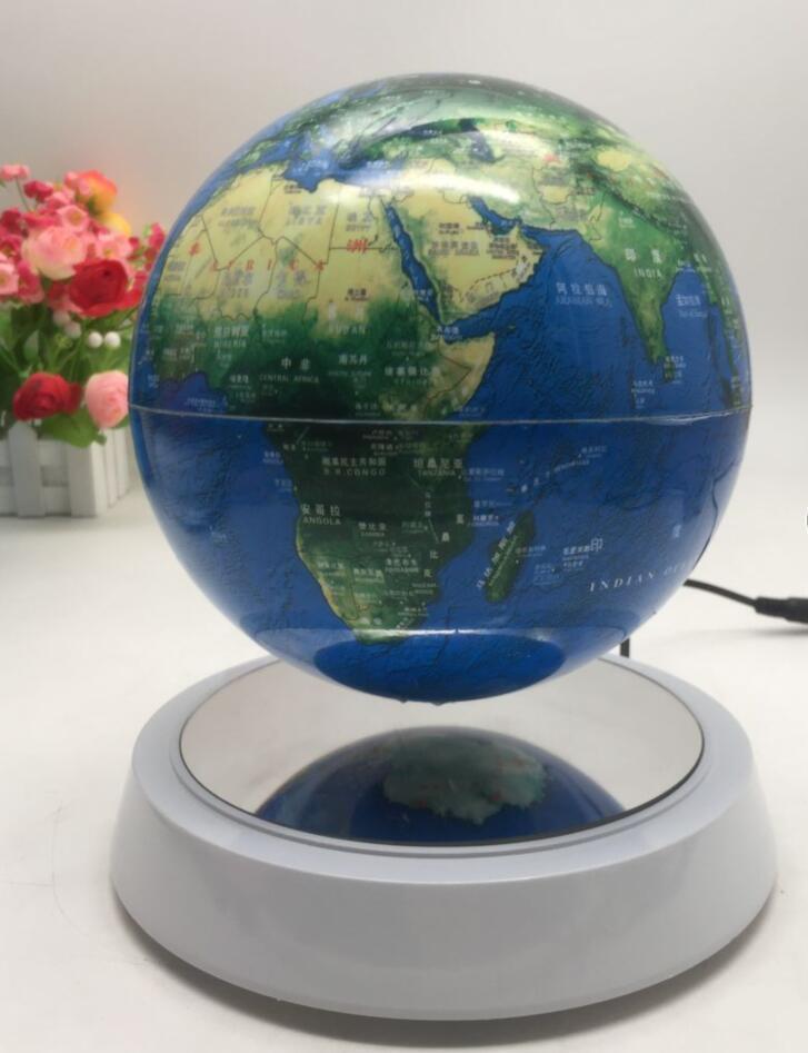Most attractive illuminated levitation floating rotating plastic world globe 1