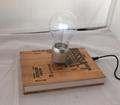 new book base magnrtic floating levitate led bulb lamp lighting