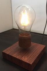 360 rotating magnetic wireless Floating Levitating LED lamp bulb light