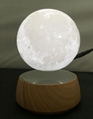 rotating maglev floating levitate moon ball levimoon lamp