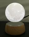 rotating maglev floating levitate moon