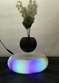 rotating  LED light floating Levitating