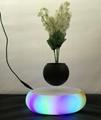 rotating  LED light floating Levitating bonsai air tree indoor air bonsai