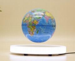 new business gift led light base magnetic floating levitate globe glove