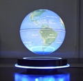 LED round base maglev floating levitate bottom 8 inch globe with lighting decor