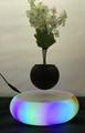 new rotating magnetic floating levitating  air bonsai planter pot