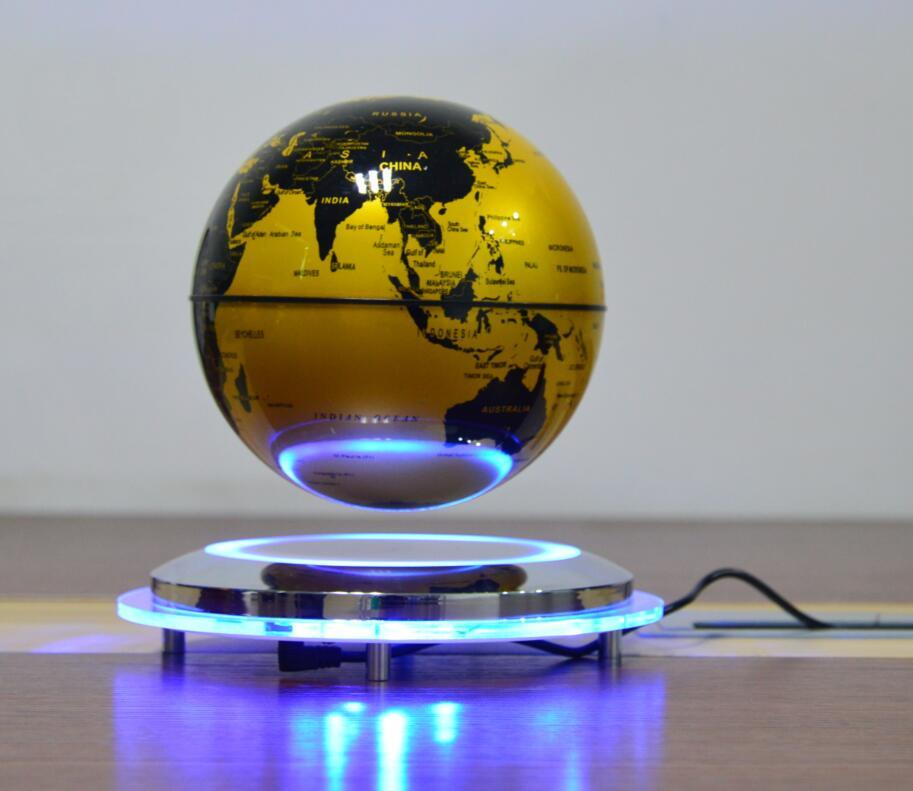 new spining maglev flying levitate air globe world earth 6inch  2