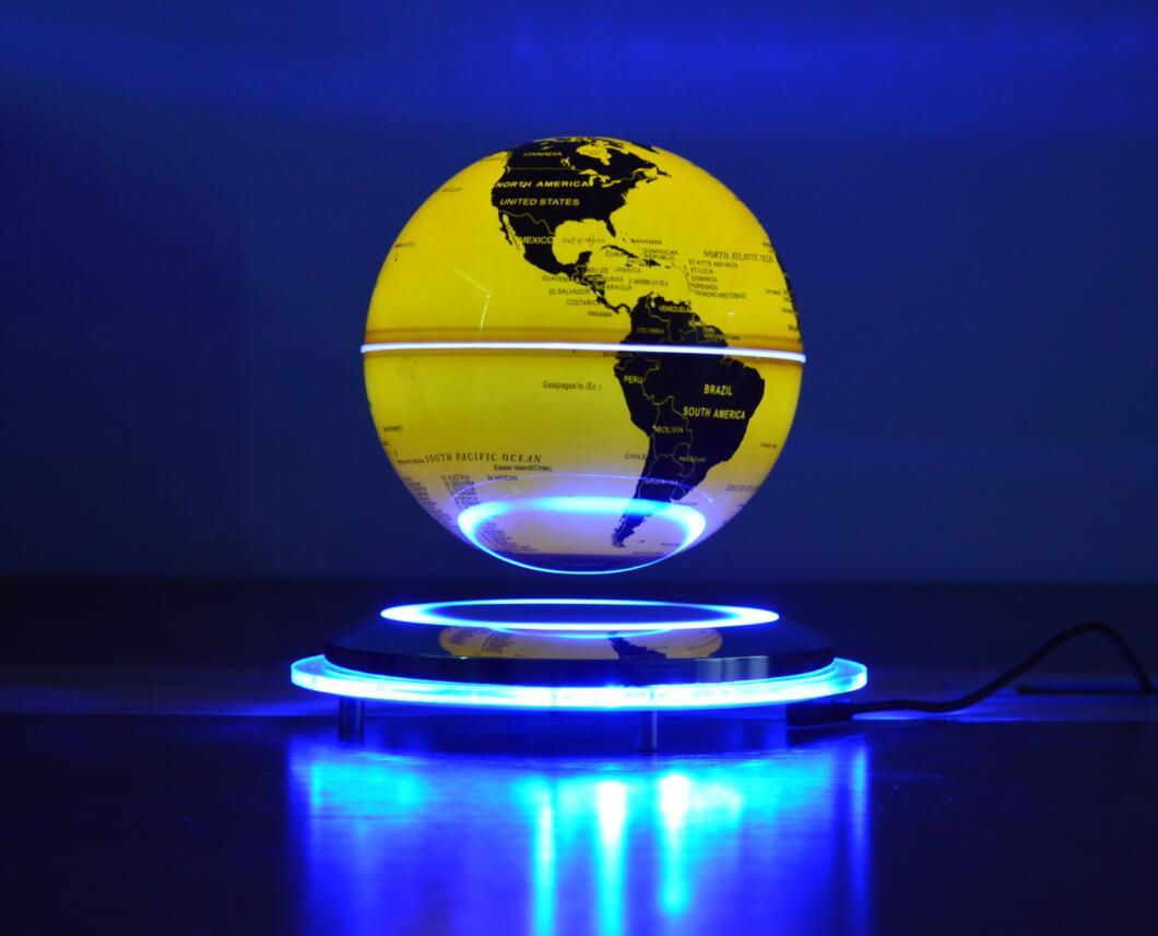 new spining maglev flying levitate air globe world earth 6inch  4