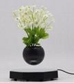 new rotating magnetic levitation air bonsai  planter indoor pot